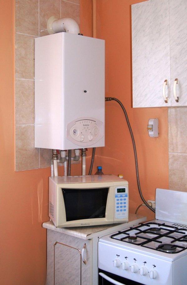 сколько стоит перенести газовый котел в частном доме