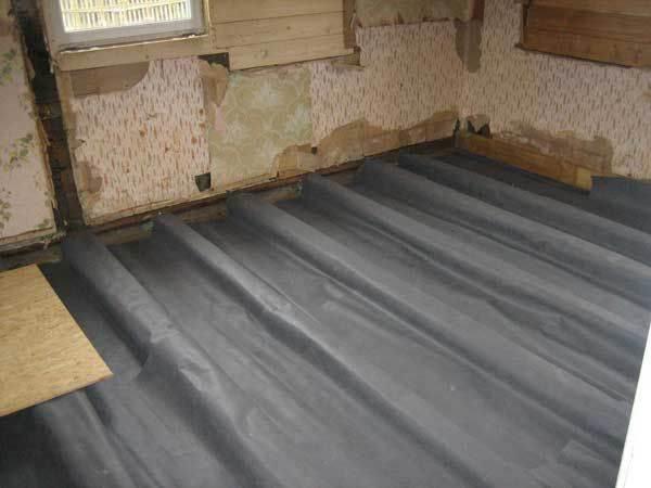 Полы по грунту — правильные с утеплением. Деревянные или бетонные полы по грунту в частном доме: делаем ремонт осознанно